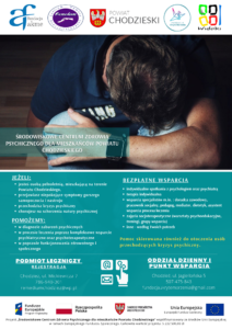 Powiat Chodzieski wspiera osoby z zaburzeniami psychicznymi