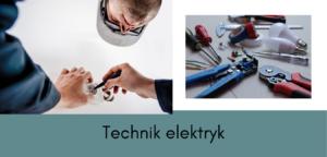 technik elektryk i jego praca