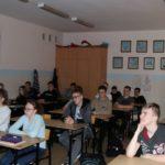 uczniowie Szkoły Hipolita na lekcji o Pani Irenie Sendler