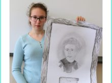 laureatka konkursu i jej plakat